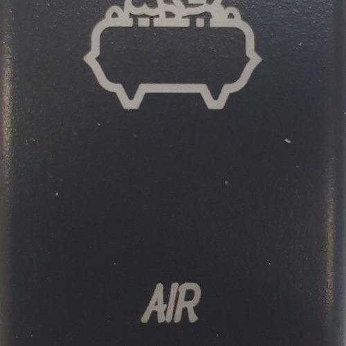 Air Compressor Laser Etched Rocker Switch